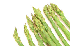 Asparagus angle Stock Photos