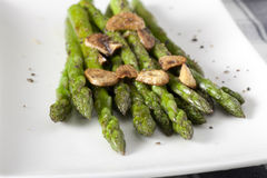 Asparagus Appetizer Stock Photos
