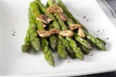 Asparagus Appetizer Stock Photos