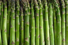 Asparagus background Stock Image