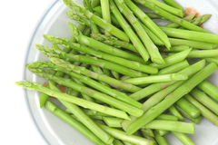 Asparagus In A Bowl Stock Image