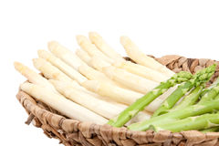 Asparagus in bowl Royalty Free Stock Image