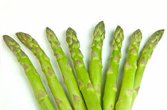 Asparagus bunch Stock Image