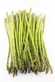 Asparagus Bunch. Stems and leaves of these tasty green vegetable spears Stock Image