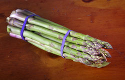 Asparagus Bunch Royalty Free Stock Photo