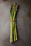 Asparagus Bunch on Cooking Sheet Royalty Free Stock Image
