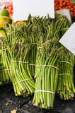 Asparagus bunched together Royalty Free Stock Image