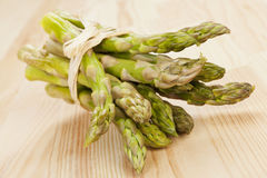 Asparagus bundle. Stock Photo