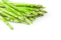 Asparagus Bundle on White Stock Photo