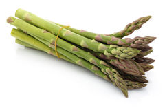 Asparagus Bundles. Asparagus isolated on white background stock photography