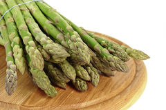 Asparagus  on chopping Royalty Free Stock Photo