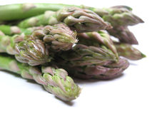 Asparagus close-up Stock Photo