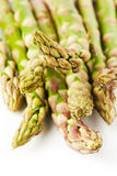 Asparagus closeup Stock Photo