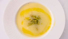 Asparagus Cream Soup Stock Images