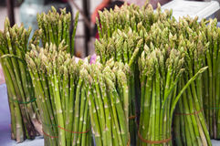 Asparagus at a farmers market in Thailand. Stock Photography
