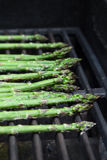 Asparagus on the Grill Royalty Free Stock Photography