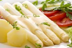 Asparagus with Ham Stock Photos