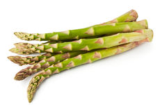 Asparagus heap Royalty Free Stock Image