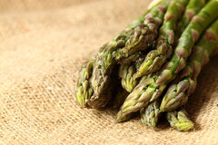 Asparagus hessian Royalty Free Stock Images