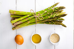 Asparagus. Stock Images