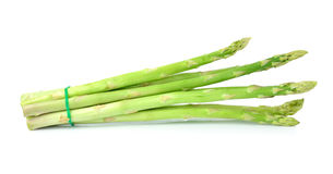 Free Asparagus Isolated On White Royalty Free Stock Photography - 43696677