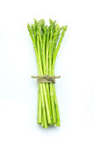 Asparagus. Isolated on the white background Royalty Free Stock Images