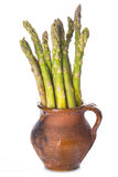 Asparagus isolated on a white background Royalty Free Stock Photos