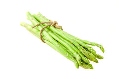 Asparagus isolated on white background Royalty Free Stock Photos