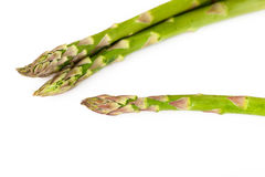Asparagus isolated on white background Raw food Royalty Free Stock Image