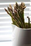 Asparagus in jug D Stock Photo