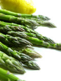 Asparagus and lemon Royalty Free Stock Photography