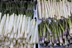 Asparagus on the market Stock Image