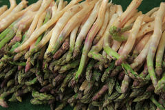 Asparagus at the market Royalty Free Stock Photo