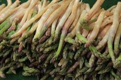 Asparagus at the market Royalty Free Stock Photo
