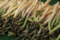 Asparagus at the market Stock Photo