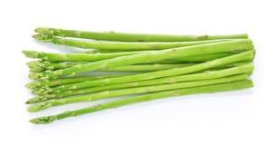 Asparagus na białym tle Zdjęcie Stock