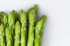 Asparagus na białym tle Fotografia Stock