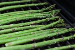 Asparagus na grillu Zdjęcia Royalty Free