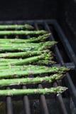 Asparagus na grillu Fotografia Royalty Free