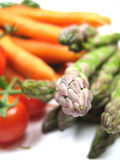 Asparagus and other vegetables Stock Image