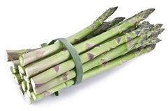 Asparagus over white. Stock Images