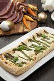 Asparagus Parmesan Puff Pastry stock photos