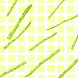 Asparagus pattern Royalty Free Stock Photo