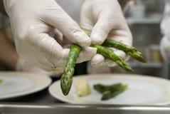 asparagus preparatu Zdjęcia Stock