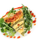 Asparagus Quiche Royalty Free Stock Photo