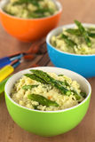 Asparagus Risotto Stock Image