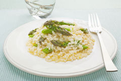 Asparagus Risotto Royalty Free Stock Photography