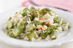 Asparagus Risotto Stock Photography