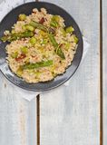 Asparagus  risotto Royalty Free Stock Images