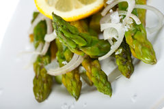 Asparagus salad Stock Photo